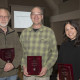Rob Kugler, Greg Hermann, and Maryann Bylander accepting their award. (Elizabeth Bennett not pict...