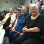 The four sisters in the picture left to right are:  Mary Shearer '62, Judy Shearer Coyne '63,...