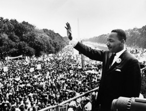 MLK Photo March on Washington