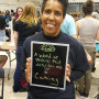 Folks were asked to share a word or phrase they felt described them at the 2016 Pio Fair. Thank y...
