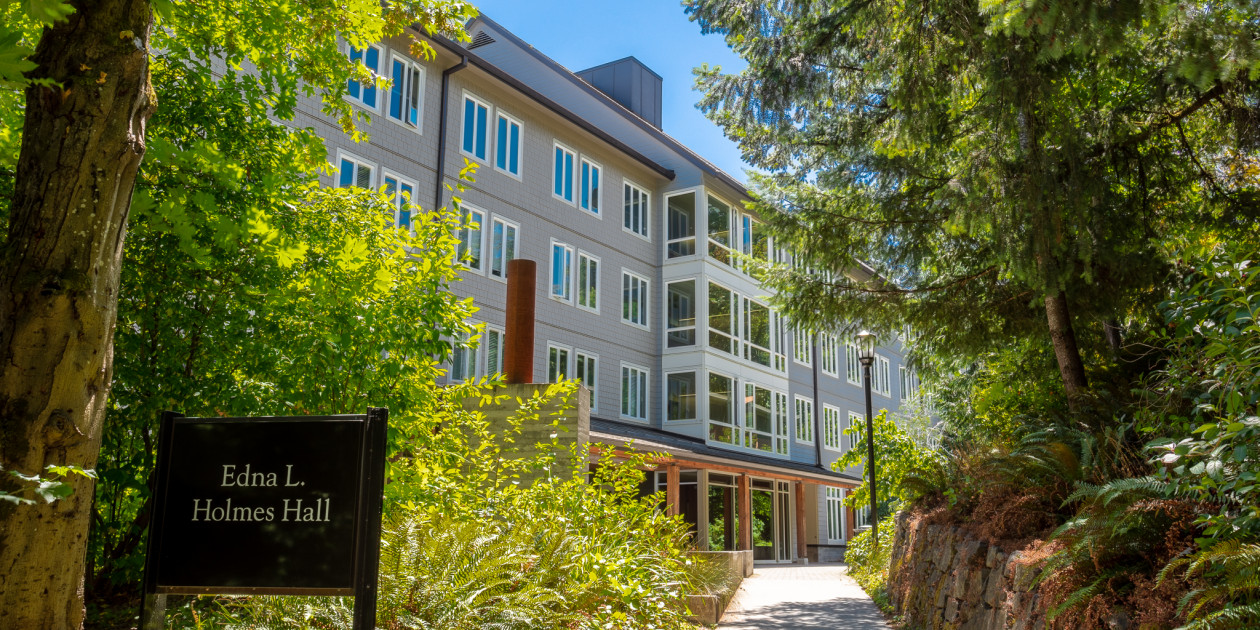 Edna L  Holmes Hall - Campus Living - College of Arts and