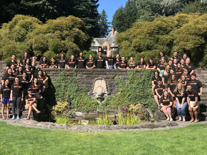 2019-2020 Resident Advisors & Campus Living Professional Staff