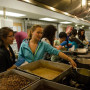 Photo Credit Matt Cheng(Akin Resident)-The night before multicultural fair food prep in the Bon k...