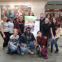 Campus Living Volunteering at the Food Bank. October 27, 2018.