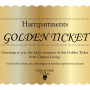 Hartzpartment Golden Ticket