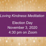 Loving Kindness Meditation on Election Day