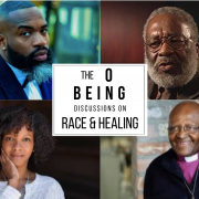 On Being Discussions featuring Darnell Moore, Vincent Harding, Imani Perry, and Desmond Tutu