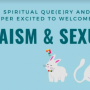An image for Judaism and Sexuality, a talk and discussion co-sponsored by LC Hillel and Spiritual...