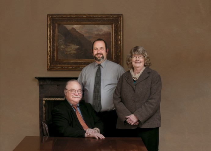 Steve Hunt, Joe Gantt, Jean Ward