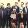 Speech competitors after successful Whitworth tournaments