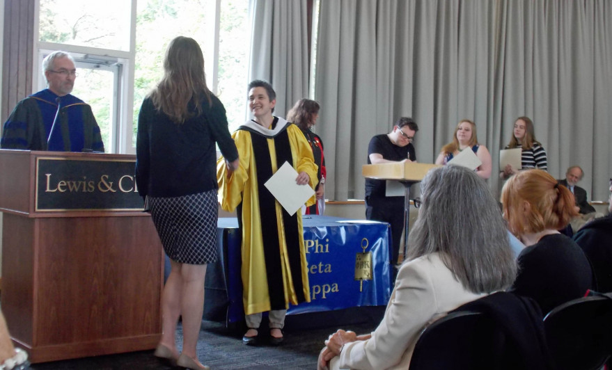 Phi Beta Kappa Ceremony 2017