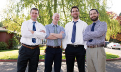 Forge Portland's founding members (law school Class of 2014): Robert Bart, Howard Voght, Jeffrey ...
