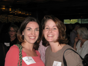 Amanda Lamb '07 and Meredith Price '07