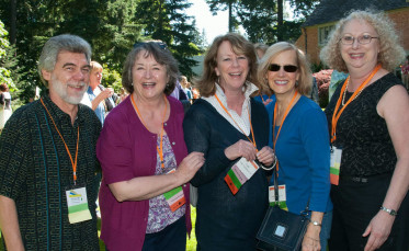 The class of 1974 celebrated at Alumni Weekend 2014.