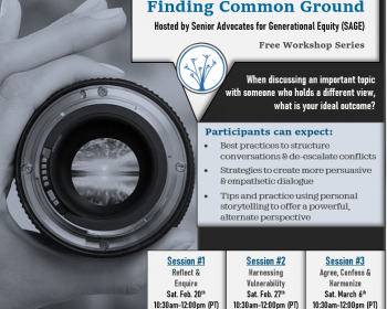 Expanding Perspectives and Finding Common Ground Workshops