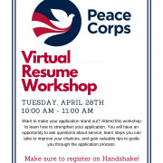 Virtual Resume Workshop