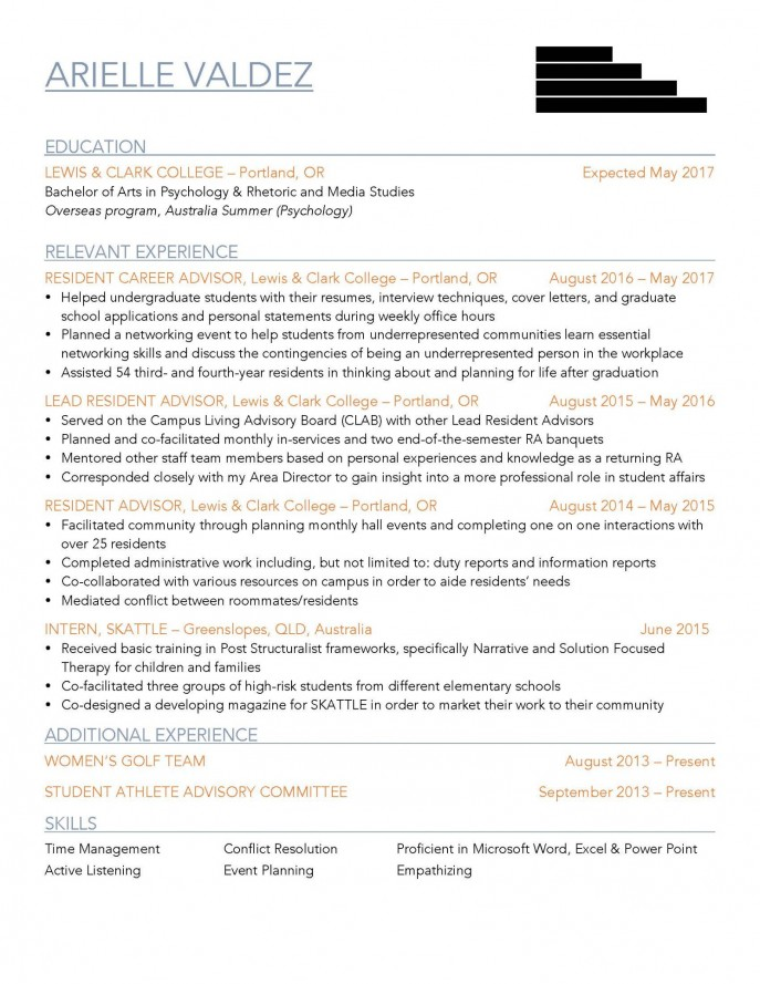 resume challenge winners 2017 - career center