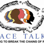 """Race Talks: Uniting To Break the Chains of Racism."" Multiple colored profiles of diffe..."