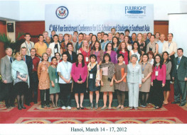 SE Asian Fulbright Conference