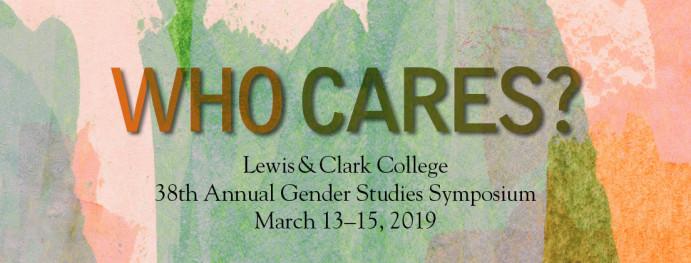 Gender Studies Symposium - College of Arts and Sciences - Lewis & Clark