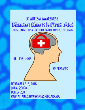 Mental Health First Aid Course Student Activities College Of