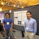 Biochemistry/molecular biology major James Miyasaki ('13) and chemistry major Stephen Kubota ('...