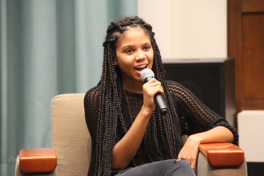 Jasmine Reid, L&C law student, on Black Lives Matter Panel: Politics, Identity, and Intersect...