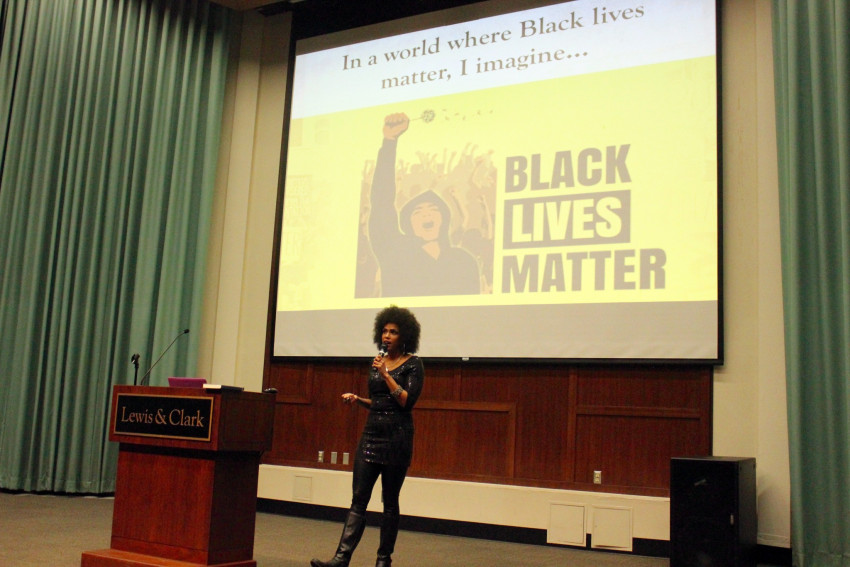 """In a world where Black Lives Matter, I imagine?? Walidah Imarish presents: Science Fiction..."