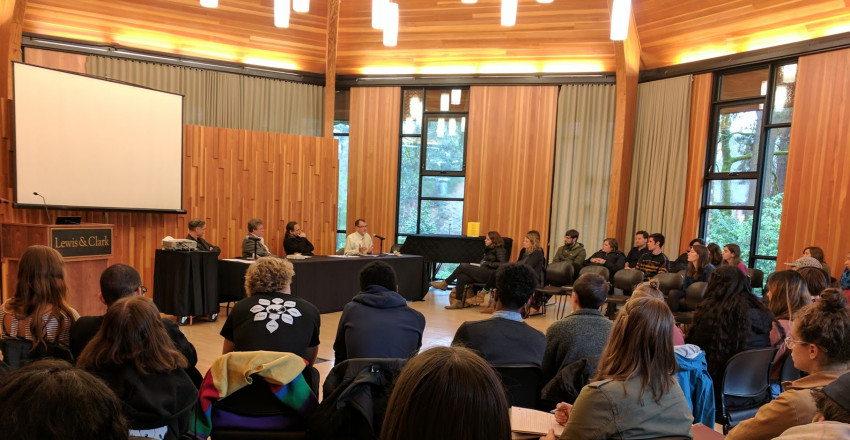 "Ethnic Studies sponsored event, Inauguration Day Teach-in panel, ""Immigration, Local Resist..."