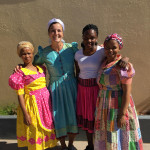 Grace Mehlhaff BA '16, on assignment as an education volunteer in Namibia.
