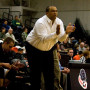 Dinari Foreman B.S. '95, men's basketball coach