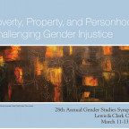 Poverty, Property, and Personhood:  Challenging Gender Injustice
