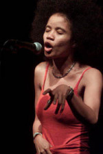 Staceyann Chin, an activist, agitator, and artist.