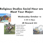 Social Hour and Meet Your Major!